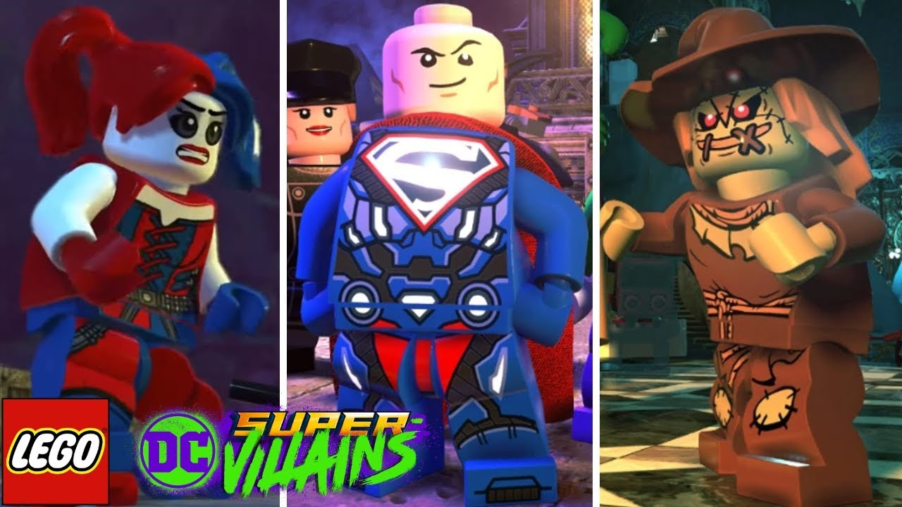LEGO DC Super Villains | All Characters Confirmed ...