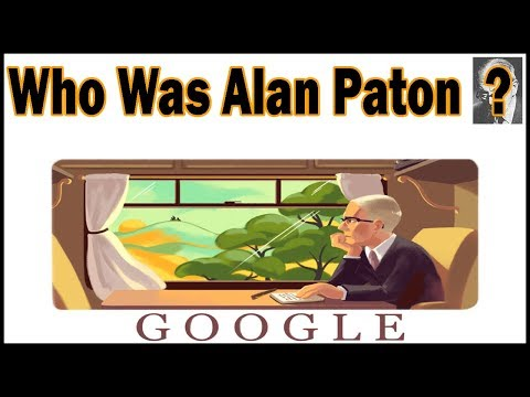 Who Was Alan Paton? Google Doodle!