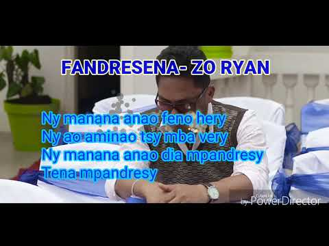 FANDRESENA - ZO RYAN