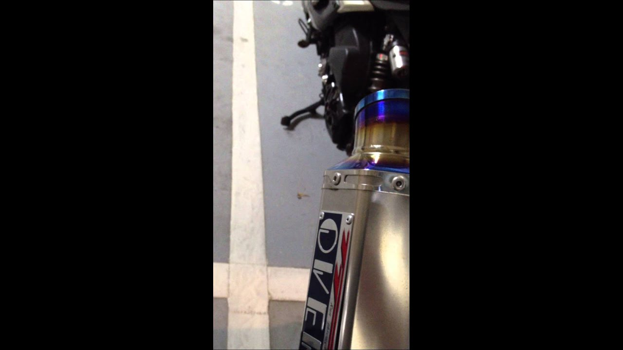 Tmax 530 over管+消音塞 - YouTube