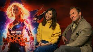 Captain Marvel Interview: Hmv.com Talks To Jude Law, Gemma Chan, Anna Boden & Ryan Fleck