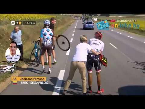 Tour De France 2017   Лучшие моменты   Падения