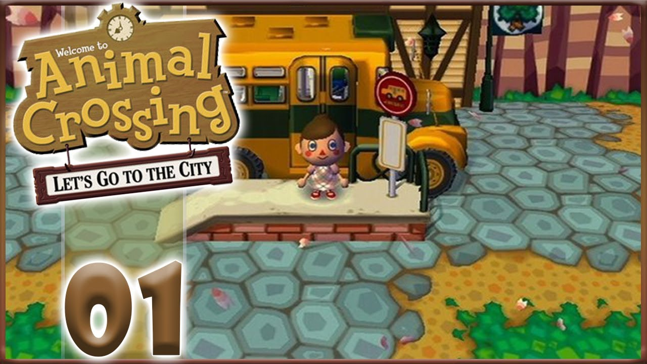 Nouvelle VIE, ANIMAL CROSSING Let's Go To The CITY ! [FR