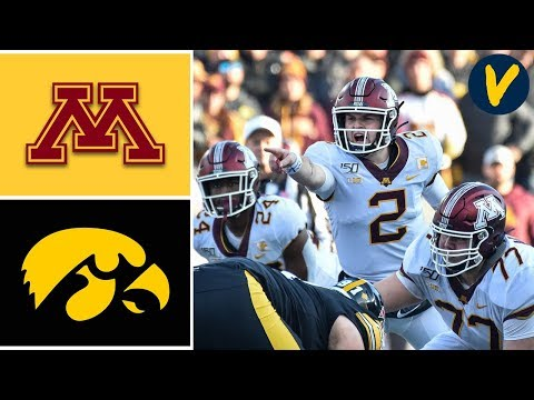 #8 Minnesota vs #20 Iowa Highlights | Week 12 | College Football | 2019