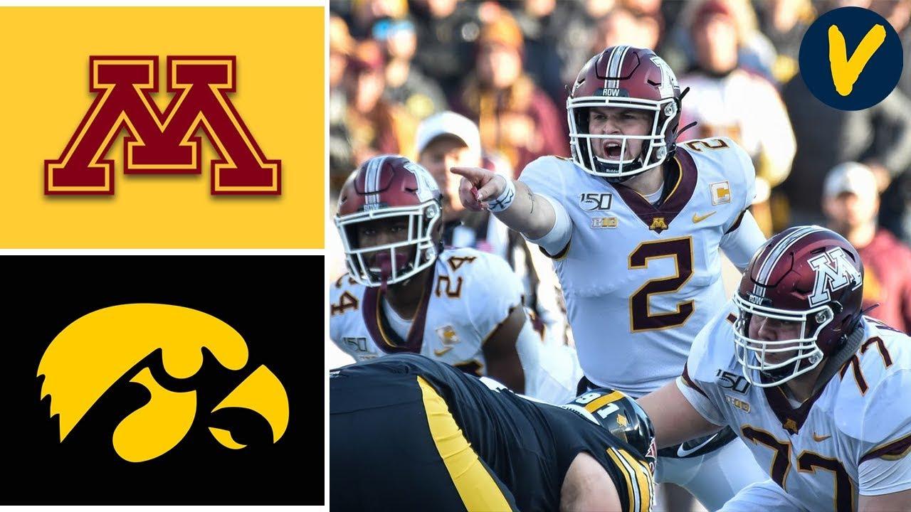 8 Minnesota Vs 20 Iowa Highlights Week 12 College Football 2019