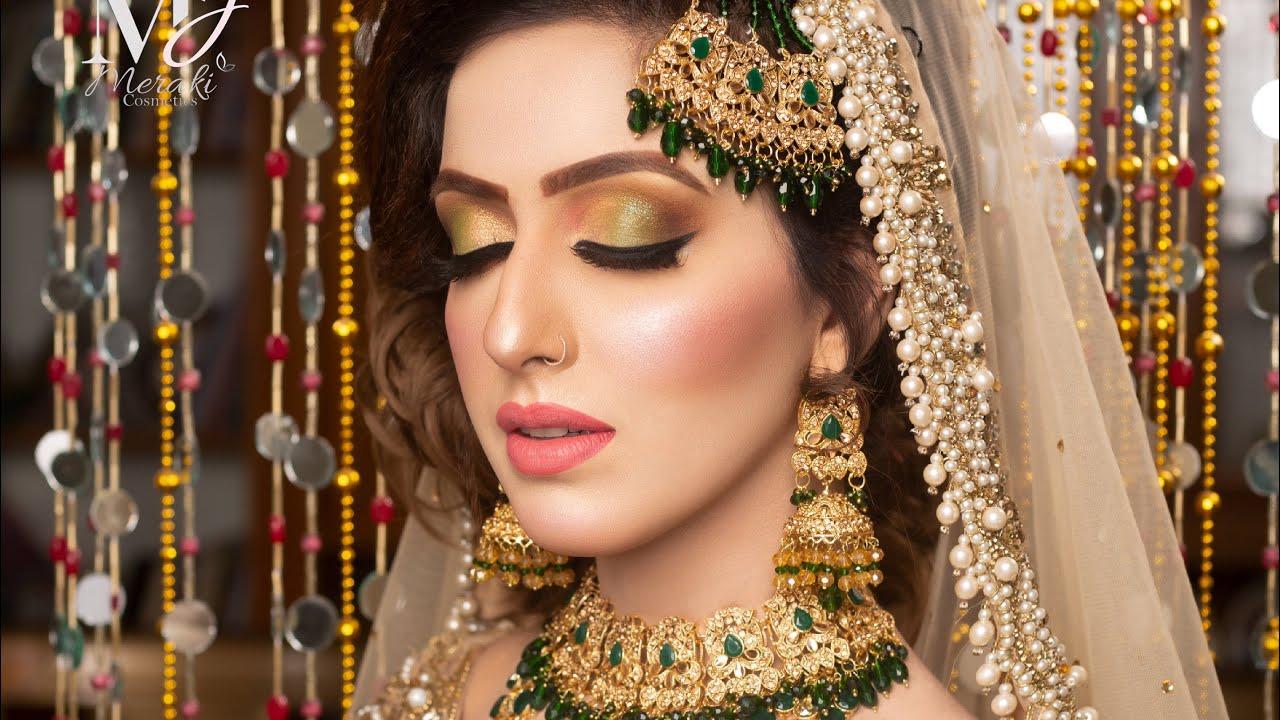 Parlour Secret Bridal Base Mixing Using Mjmeraki Silk foundation | Perfect back combing for Bridals