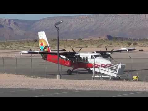 De Havilland DHC 6 300 Twin Otter Grand Canyon Airlines Taking off
