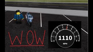 Flying Motorcycle Glitch?!? Vehicle Simulator Roblox