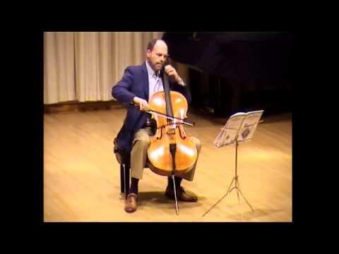 Concerto Study In D Minor By Janice Tucker Rhoda -- CELLO