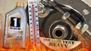 Mobil 1 New Life FS 0W40 Jak skutecznie olej chroni silnik? 100°C