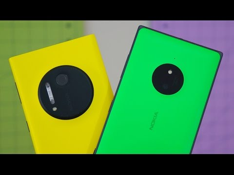 Lumia 830 vs Lumia 1020: A Matter of Pixels