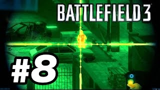 BATTLEFIELD 3 #8 - VIGIA NOTURNO E SOLDADO CAMPOS! Night Shift - Gameplay Comentado em Português