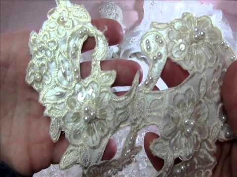 DESTASH Wedding Dress Appliques (((((ALL SOLD))))))