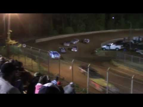 Toccoa Speedway Monster Minis 4 Cylinders Heat Three 5/2/2014