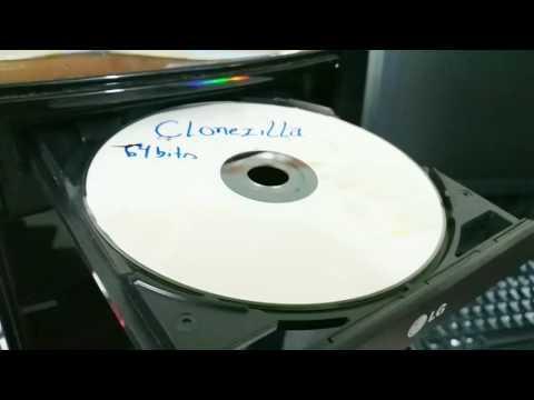 Clonando Linux com Clonezilla