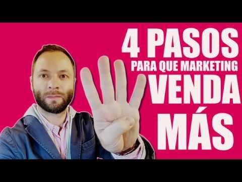 4 Pasos para que su Marketing Venda Más