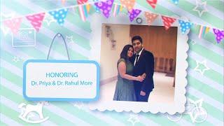 The Baby Boss Shower invitation video || Honoring Dr. Priya & Dr. Rahul More