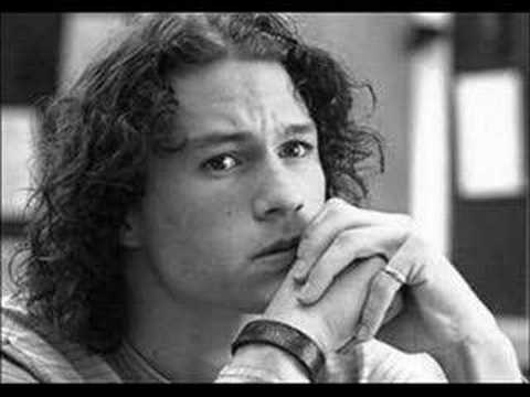 Heath ledger only the good die young youtube - Heath ledger pics ...
