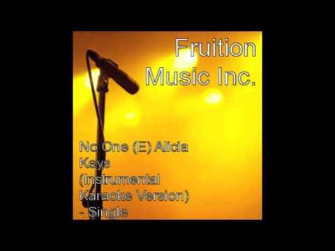 Alicia Keys - No One (Instrumental Karaoke Version)