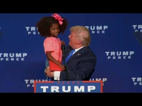 Download Donald Trump brings young fans onstage