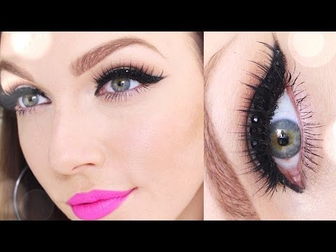 New Year's Eve Makeup  | *Rhinestone Cat Eye* thumbnail