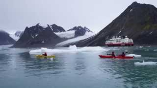HURTIGRUTEN SPITSBERGEN - kayaking