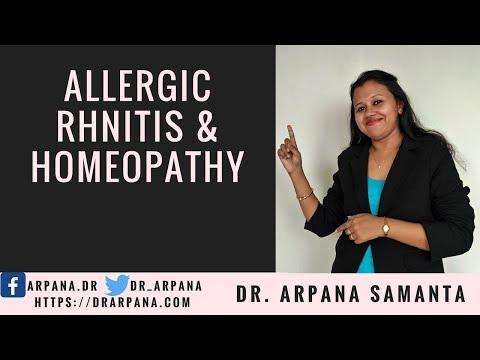 एलर्जिक रायनाइटिस, नाक में एलर्जी, सर्दी जुखाम और होमियोपैथी दवाई  || ALLERGIC RHINITIS & Homeopathy