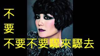 容易受傷的女人- 王菲(粵語) (娛己娛人卡拉OK) - 特大字幕MV NO:86