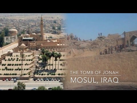 Image result for tomb of jonah in mosul