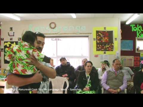 Parents Speeches - Cook Islands Language Week