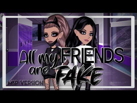 All My Friends are Fake // okxyemz