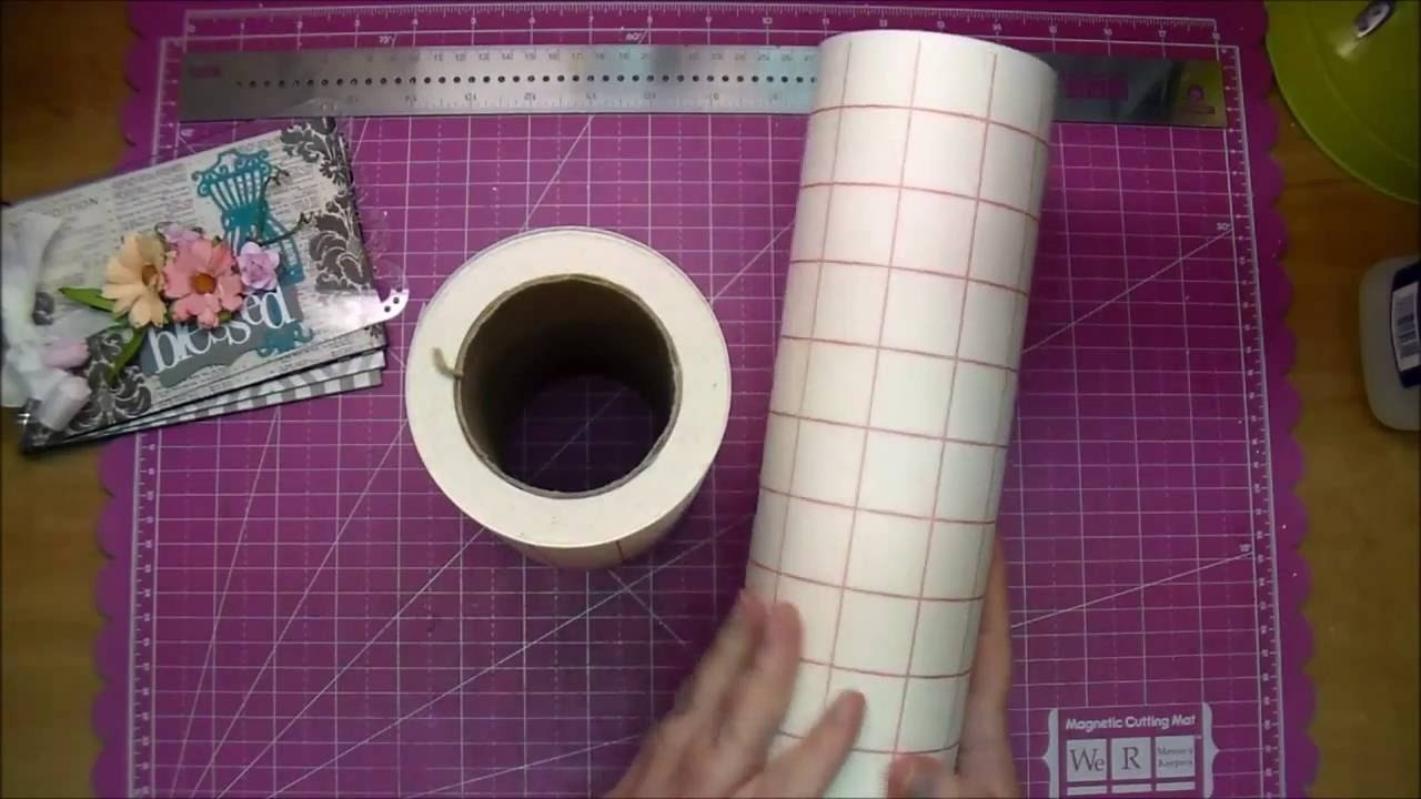 How to use angel crafts transfer paper tape with adhesive for Angel craft transfer tape