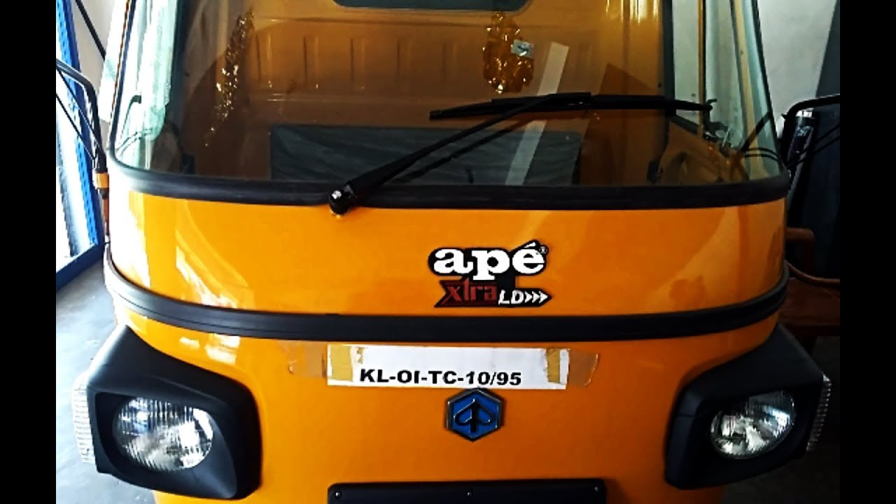 Piaggio ape Xtra LD Complete Review including Engine, mileage, price