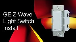 GE In-Wall Smart Switch Install (Z-Wave)
