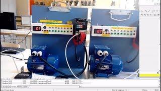 Omron CP1L control de variadores MX2 por Modbus RTU