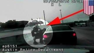 Полицейский Остина спас женщину, подавившуюся галетой