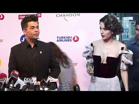 Karan Johar OPENLY Avoids Kangana Ranaut At Jio Mami After NEPOTISM Insult At IIFA Awards 2017