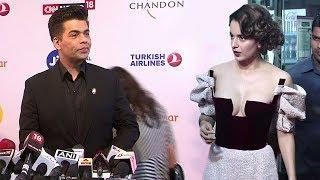 Karan Johar OPENLY Avoids Kangana Ranaut At Jio Mami After NEPOTISM Insult At IIFA Awards 2017