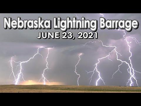 June 23, 2021 • Prolific Lightning Show in Northern Nebraska!