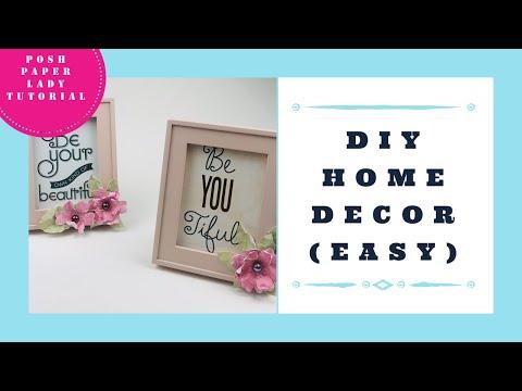 DIY HOME DECOR - Easy Easter Basket Gift Idea