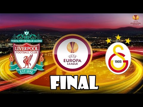 PES 2015 UEFA Europa League Liverpool F.C. vs Galatasaray A.S. FINAL 60fps