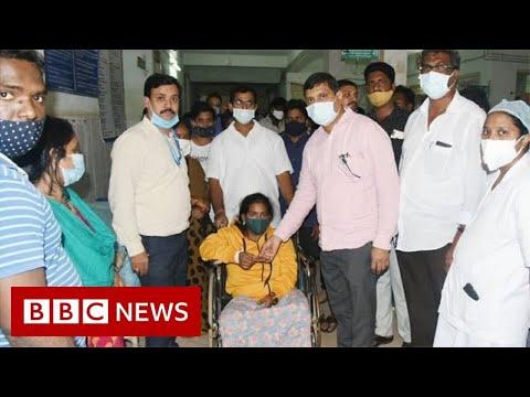 India 'mystery' illness puts hundreds in hospital - BBC News