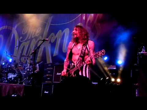 The Darkness, Givin' Up @ Rams Head Live, Baltimore, MD 1-15-13