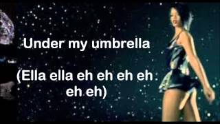 Umbrella (Orange Version) (Lyrics on Screen) ~ Rihanna ft. JAY-Z