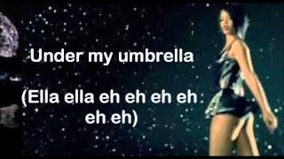 Umbrella (Orange Version) (Lyrics on Screen) ~ Rihanna ft. JAY-Z