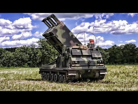 M270A1 Multiple Launch Rocket System (MLRS) • Shoot & Scoot