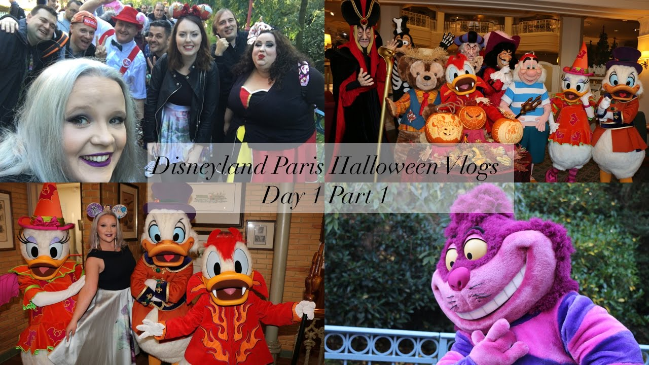 disneyland paris halloween soiree vlogs day 1 part 1 meet cheshire cat a crazy b r unch. Black Bedroom Furniture Sets. Home Design Ideas