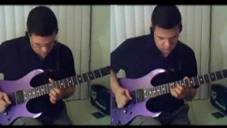 Metallica - Rebel of Babylon guitar cover (all guitar)