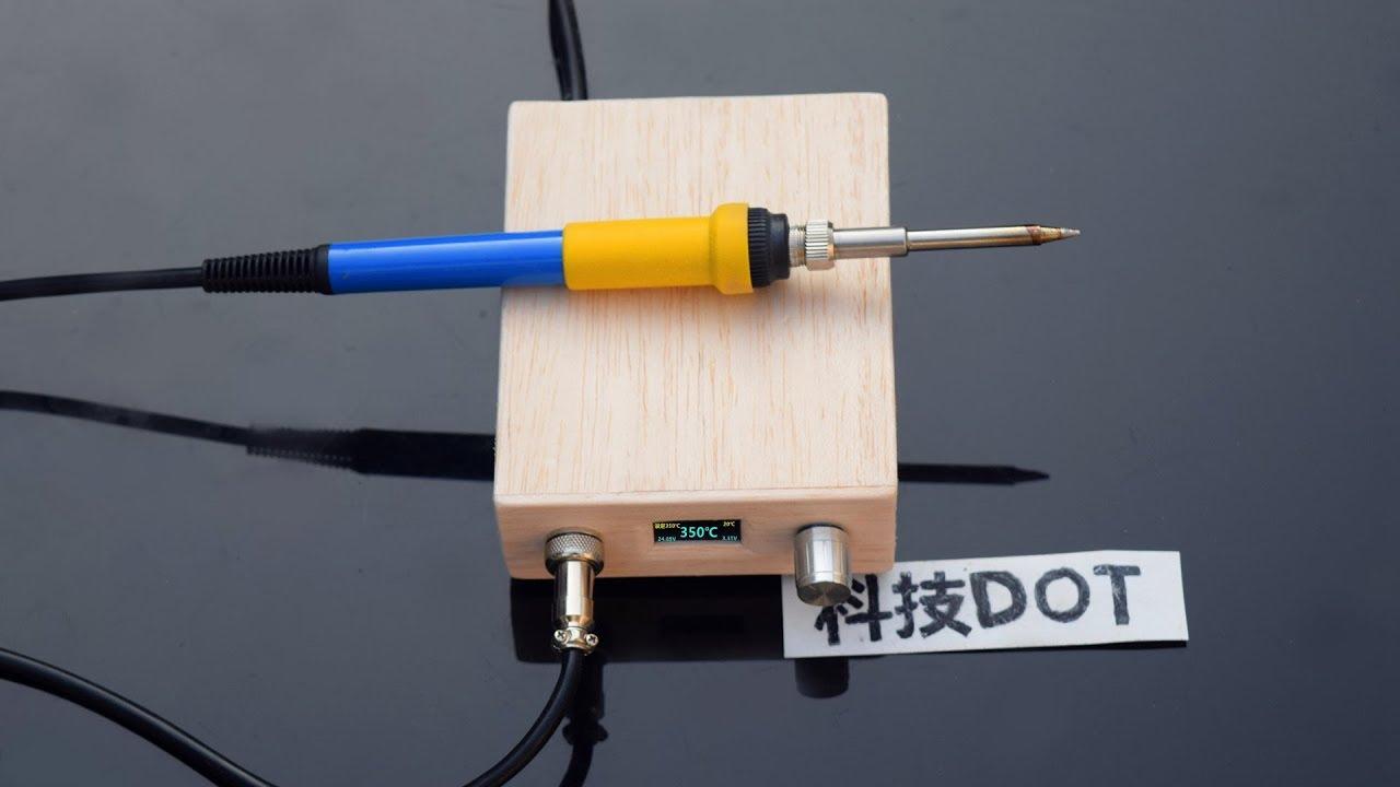 how to make hakko t12 digital soldering station make powered soldering iron diy t12. Black Bedroom Furniture Sets. Home Design Ideas