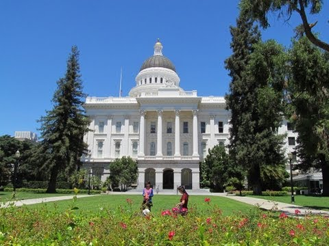 Visiting the California State Capitol